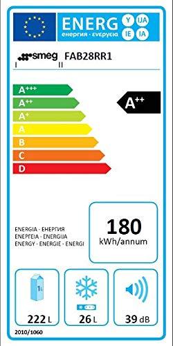 Smeg FAB28RR1 Standkühlschrank - 2