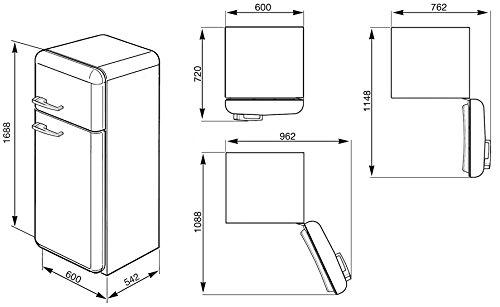Smeg FAB30RP1 Kühlschrank - 2