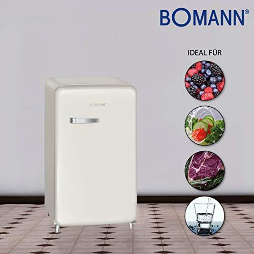 Kühlschrank A : ▷ bomann ksr kühlschrank a retro design retro