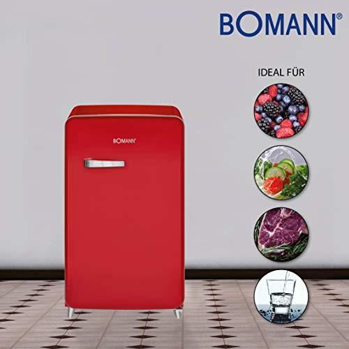 Bomann Retro Kühlschrank Rot : ▷ bomann ksr kühlschrank a retro design retro