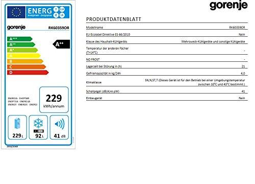 Gorenje RK 60359 OR Kühl-Gefrier-Kombination