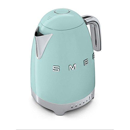 SMEG Retro Wasserkocher in pastellgrün